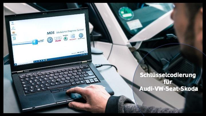 Prüfstand, Laptop, VW, Seat, Skoda, Audi, Kfz Mechaniker