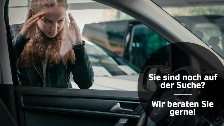 Frau, Auto, Innenraum, Lenkrad, VW